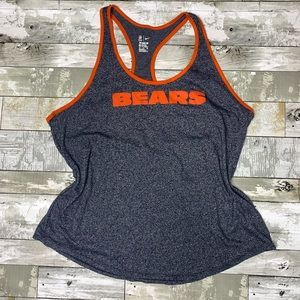 Nike Chicago bears NFL athletic tank top